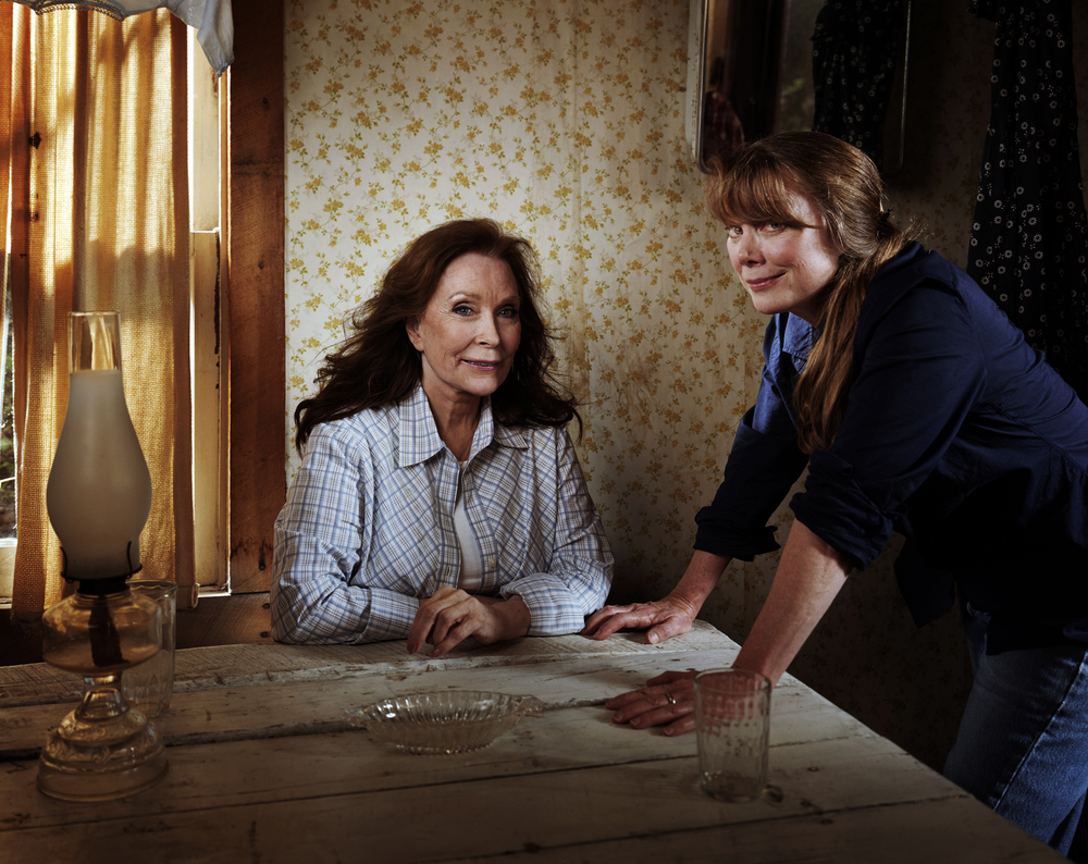 Loretta Lynn and Sissy Spacek - Hurricane Mills, TN