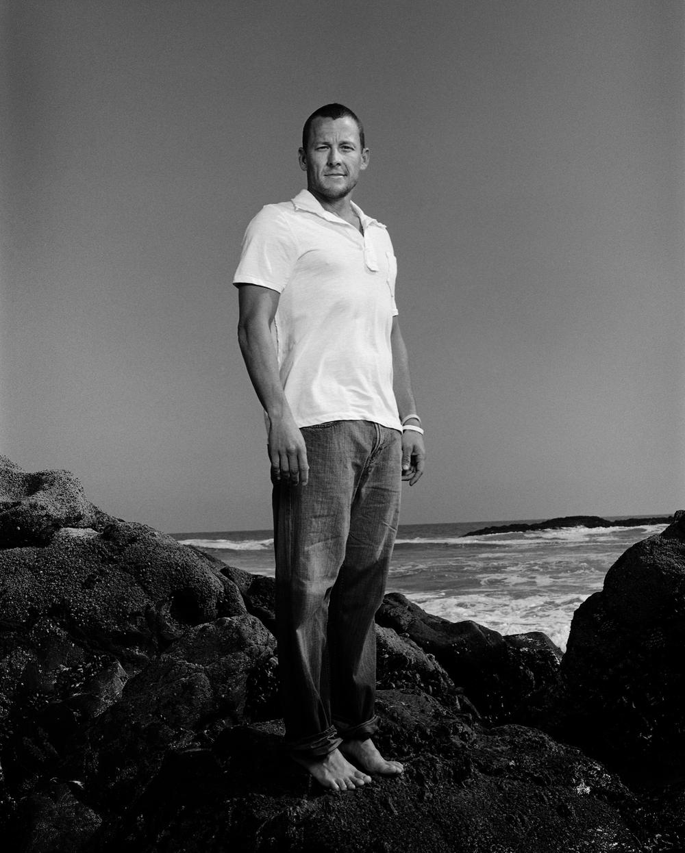 Lance Armstrong - Malibu, CA