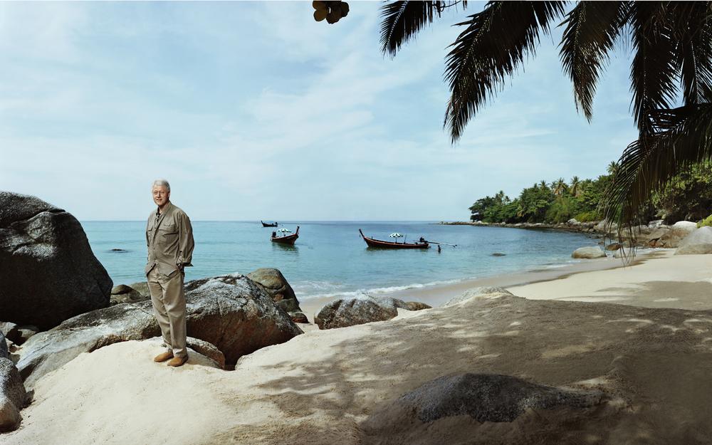 Bill Clinton - Phuket, Thailand
