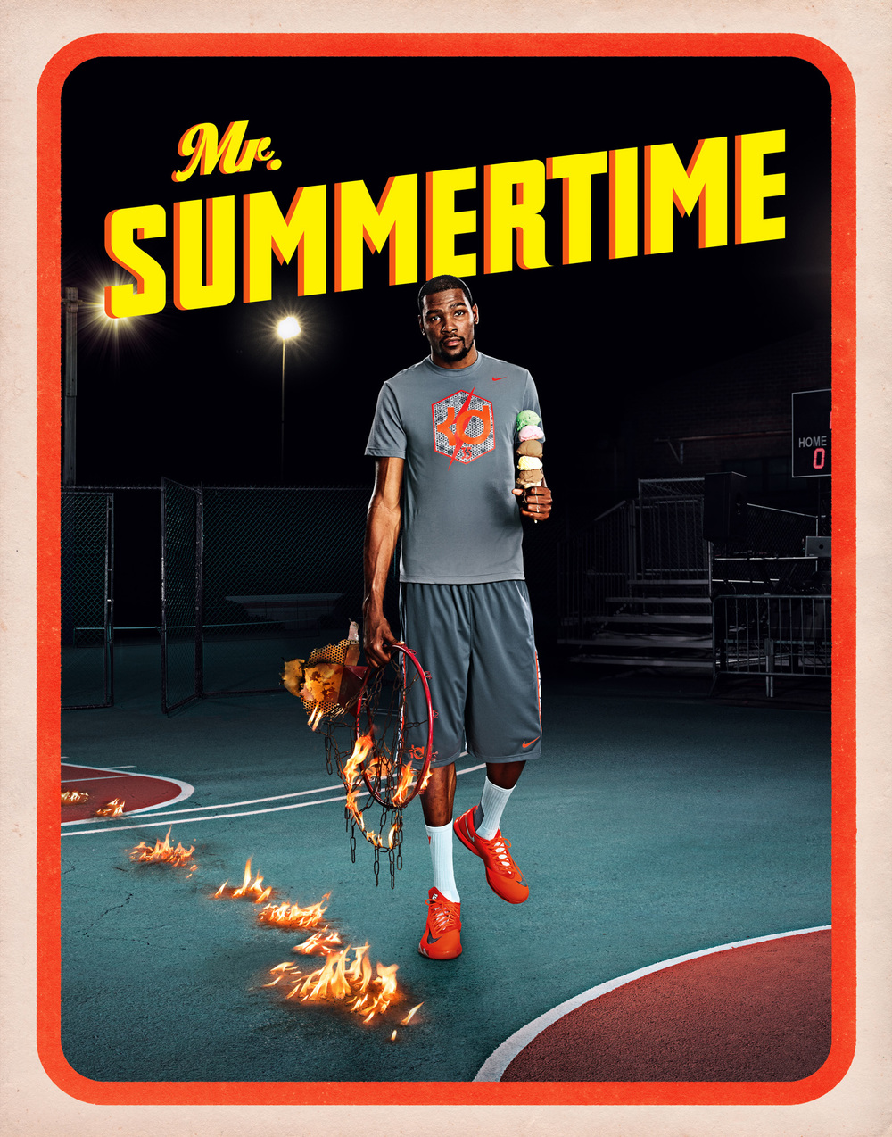 Kevin Durant for Nike - Los Angeles, CA