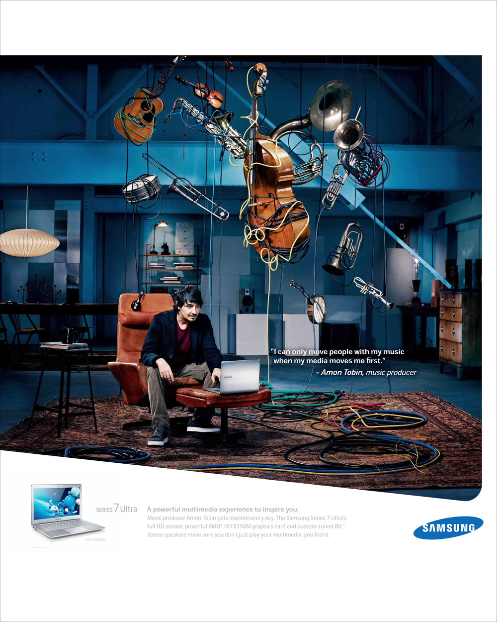 Amon Tobin, Musician, Producer and DJ for Samsung Series 7 Chronos - Los Angeles, CA