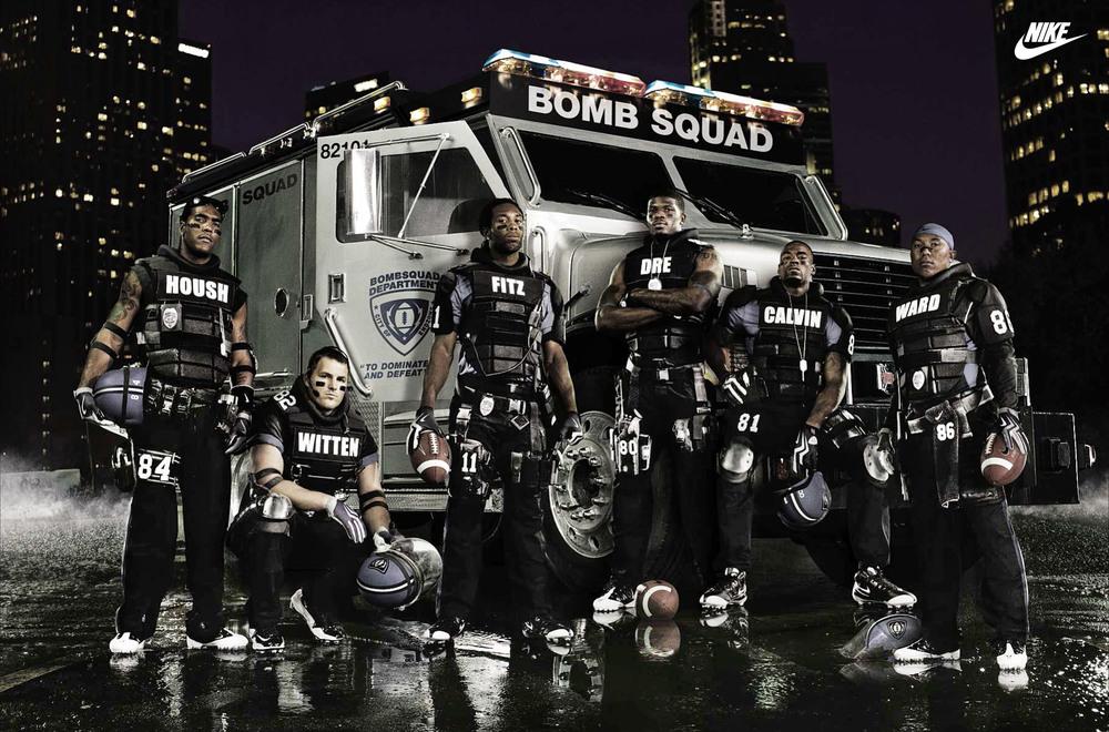 "Nike NFL ""Bomb Squad"" - Los Angeles, CA"