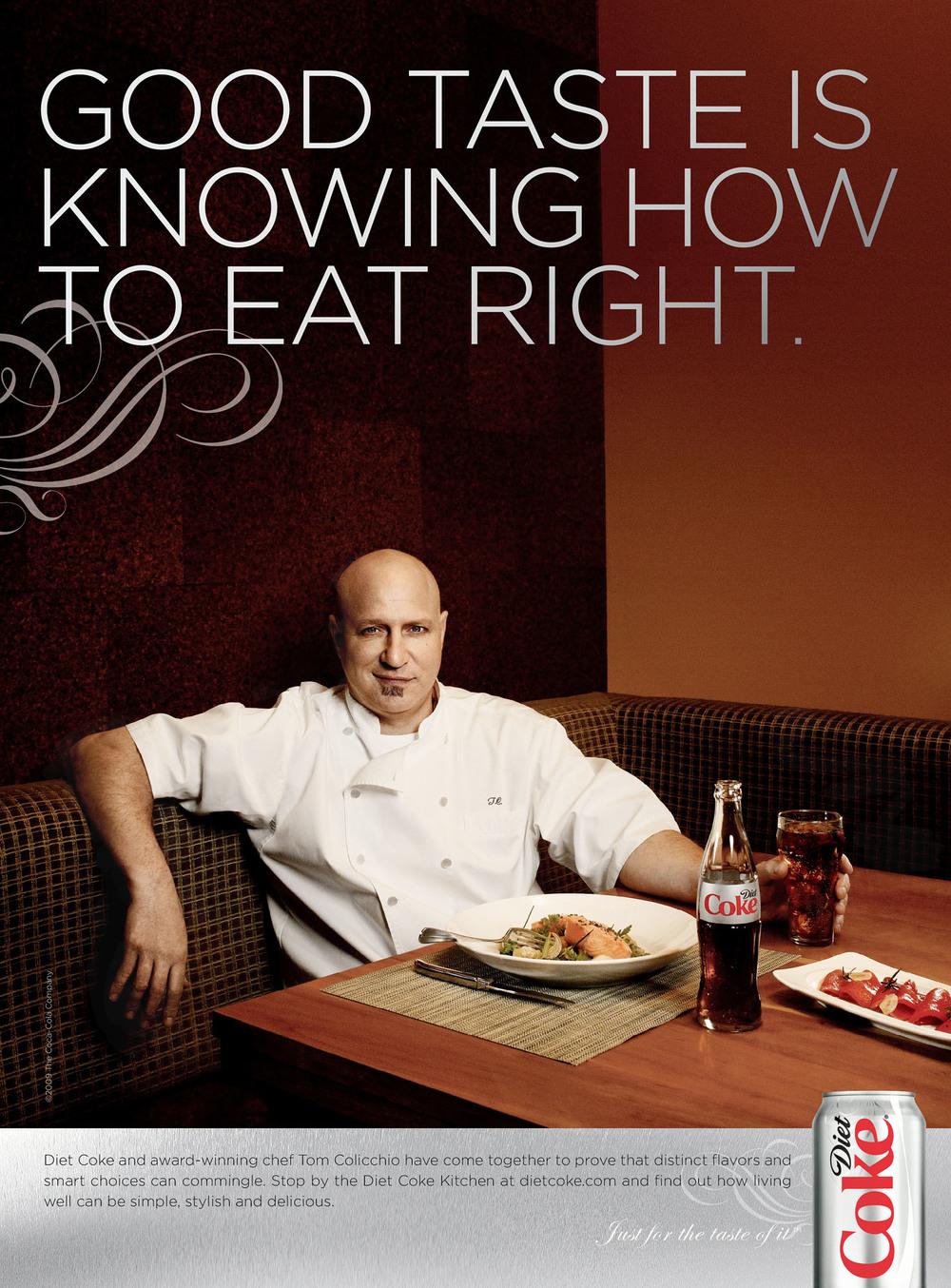Tom Colicchio for Diet Coke - Las Vegas, NV