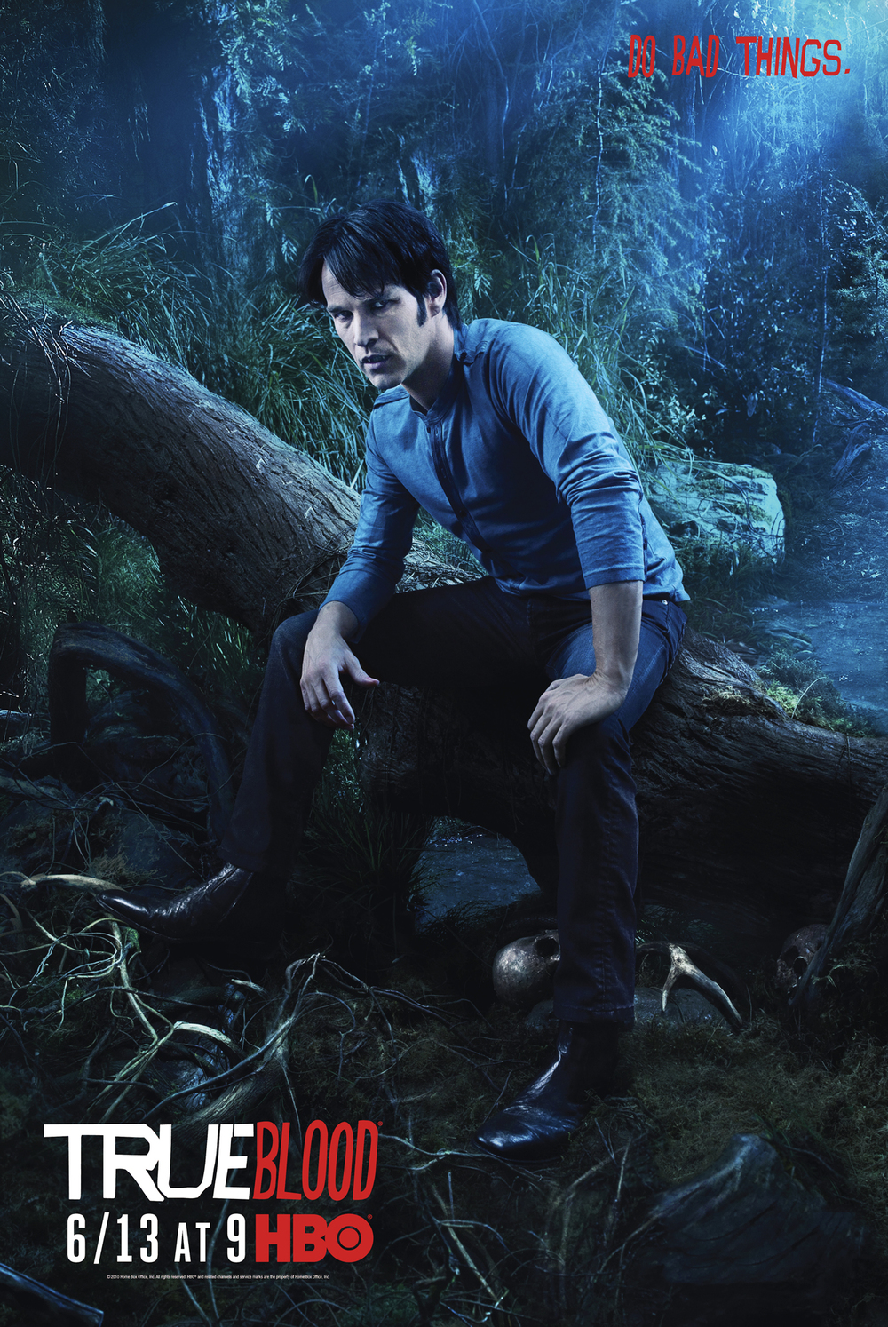 Stephen Moyer for HBO's True Blood - Los Angeles, CA