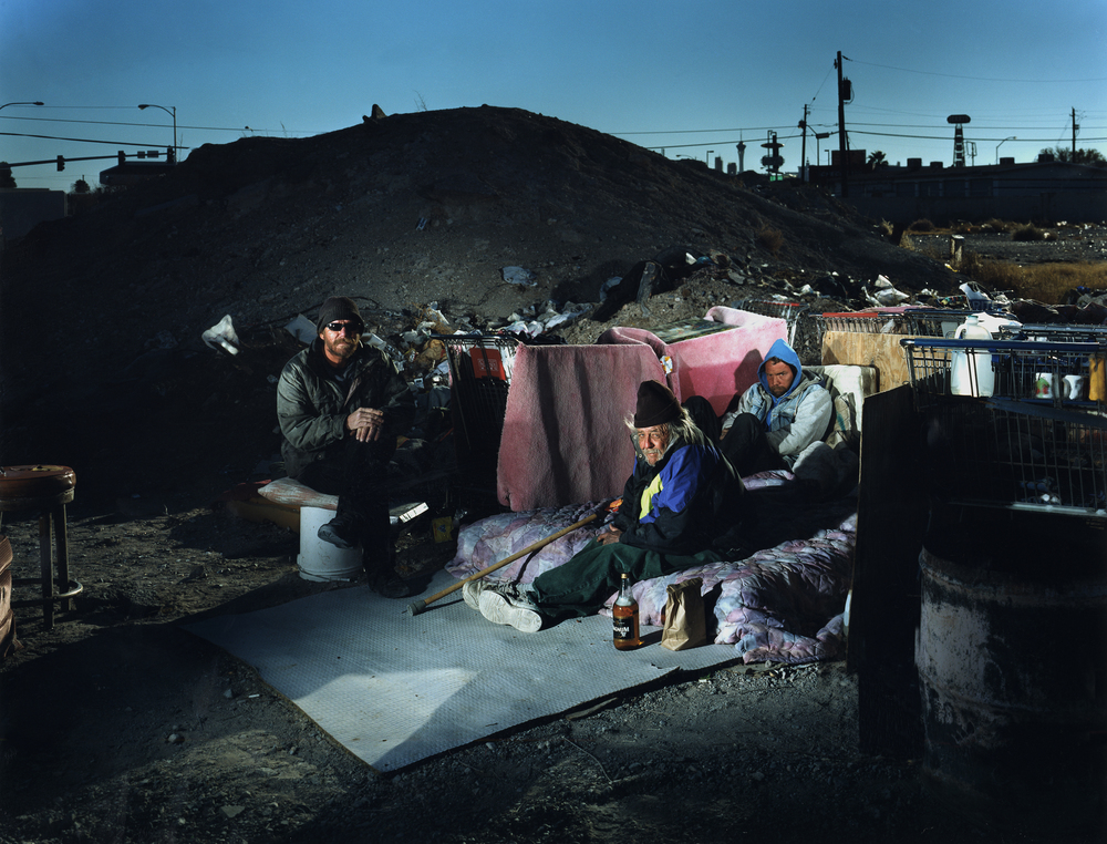 Homeless camp - Las Vegas, NV