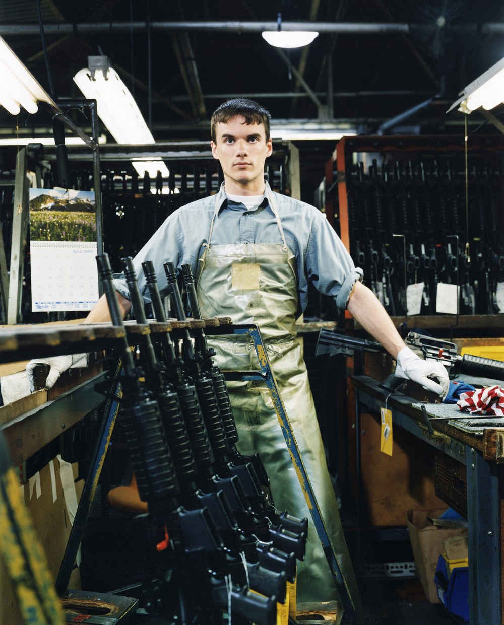 Colt gun factory worker - Hartford, CT