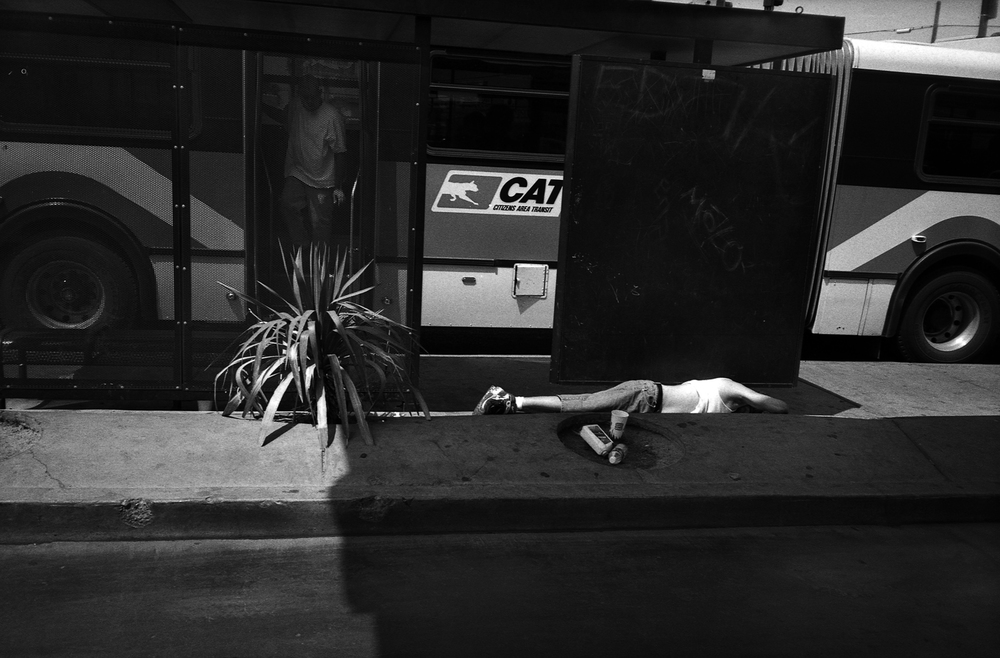 Bus stop - Las Vegas, NV