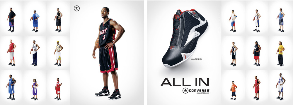 Dwayne Wade for Converse - New York City