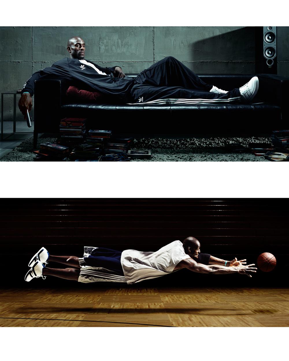 Kevin Garnett for Adidas - Los Angeles, CA