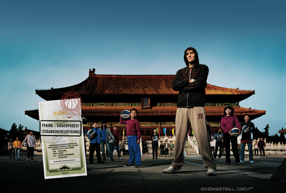 Dirk Nowitzki for Nike - Beijing, China