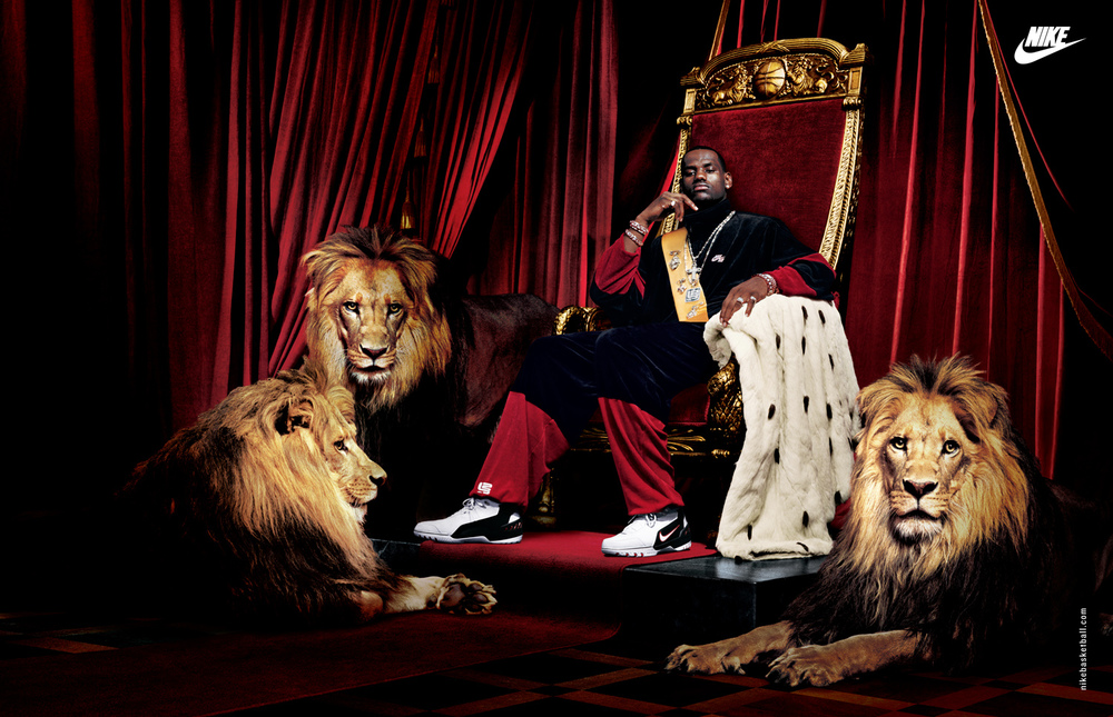"Lebron James as ""King James"" for Nike - Los Angeles, CA"