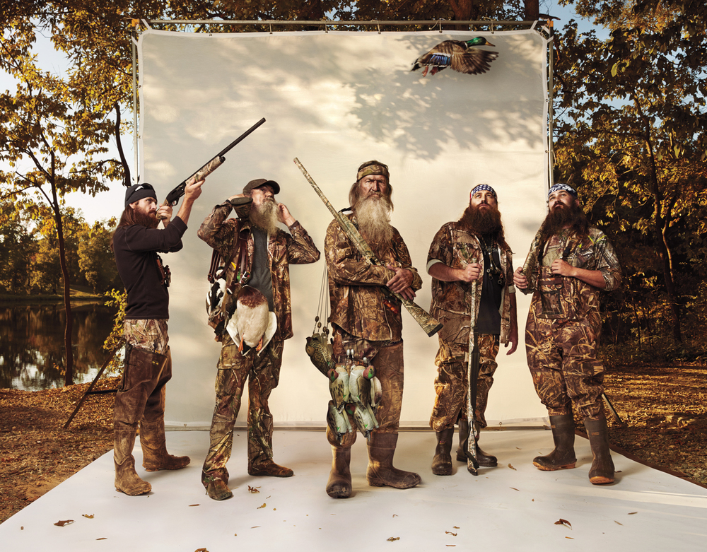Duck Dynasty Klan for GQ - West Monroe, LA