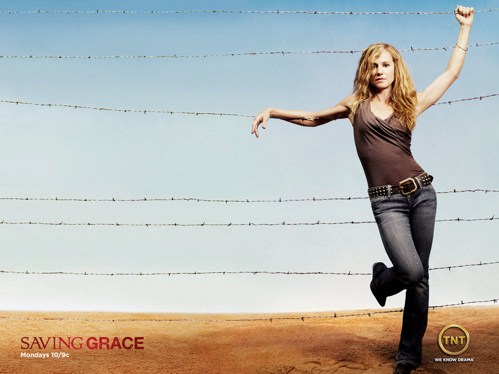 TNT - Holly Hunter in Saving Grace - New York City