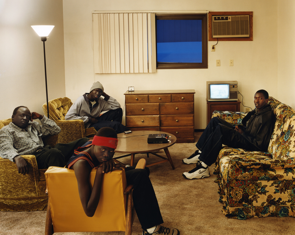 The Lost Boys of the Sudan - in Fargo, ND for the New York Times Magazine - 2001