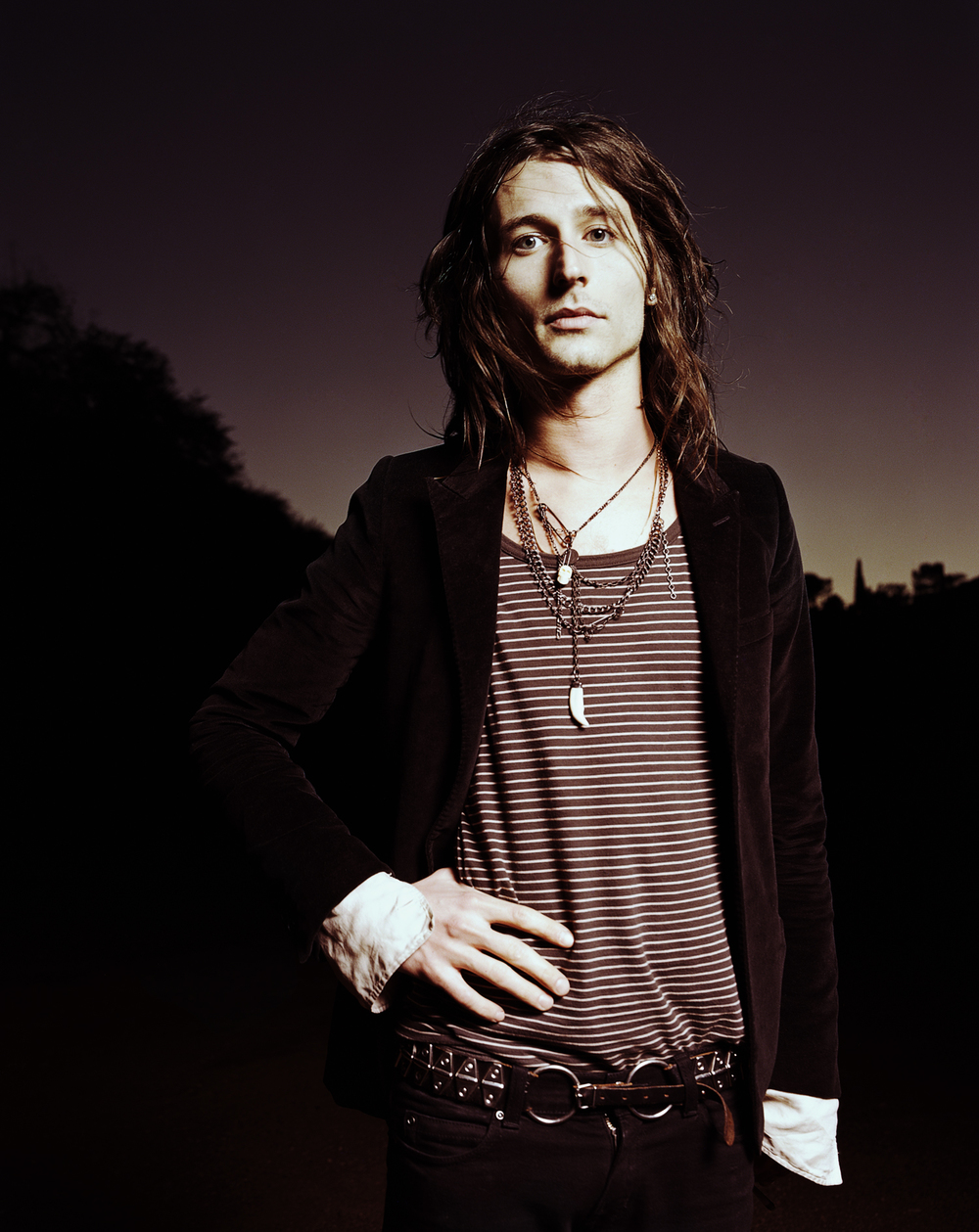 Nick Valensi of The Strokes - Los Angeles, CA