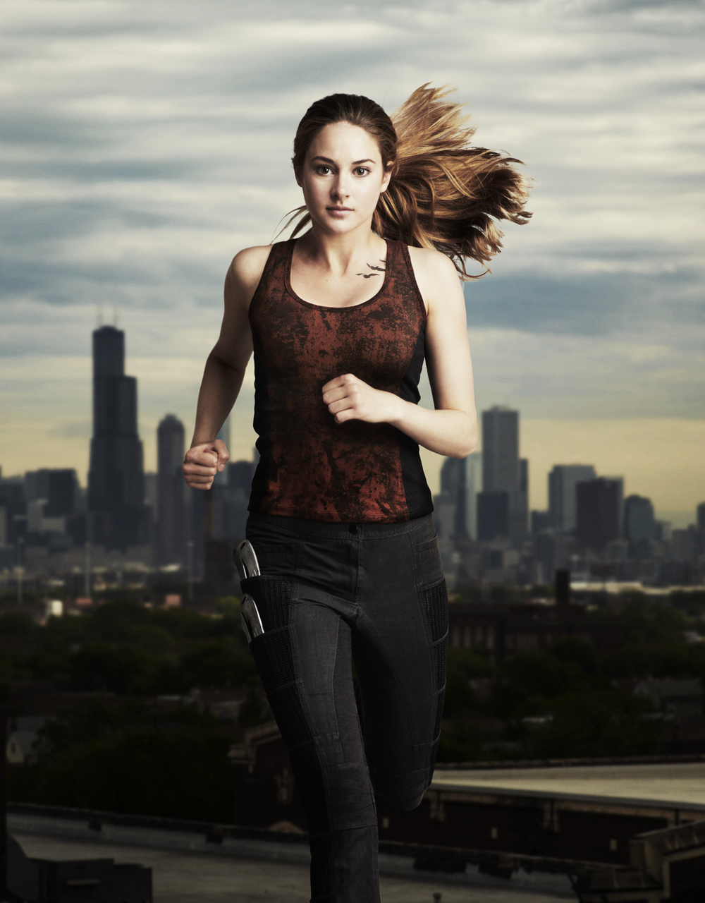 Shailene Woodley - Chicago, IL