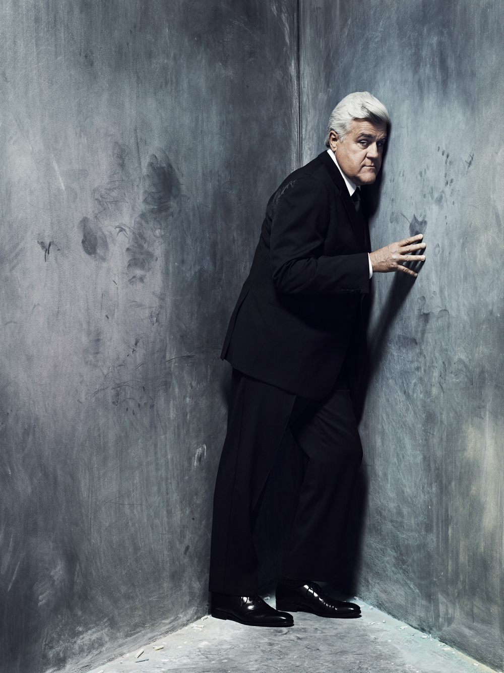 Jay Leno - the last days at NBC - Los Angeles, CA