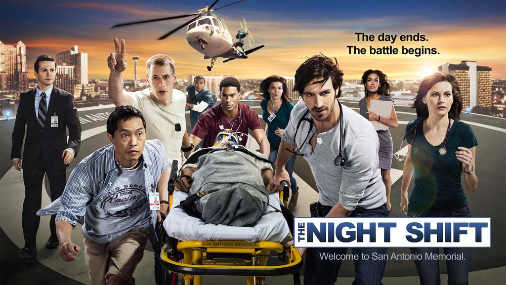 Cast of The Night Shift for NBC - Albuquerque, NM