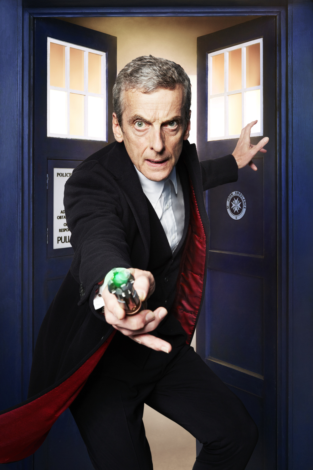 Dr. Who - Peter Capaldi - Cardiff, Wales