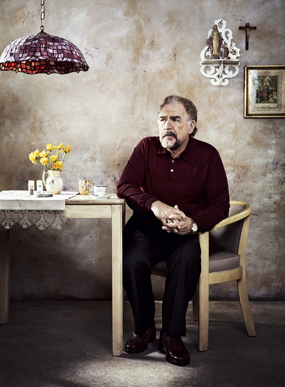 Brian Cox for NBC's The Slap - Queens, NY