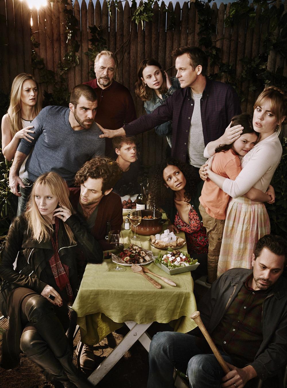 Cast of The Slap - NBC - Brooklyn, NY