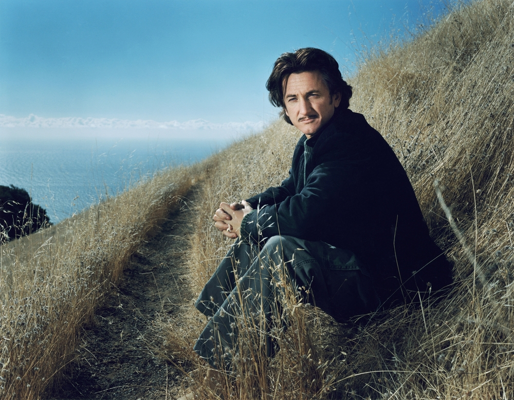 Sean Penn - Mount Tamalpais, CA