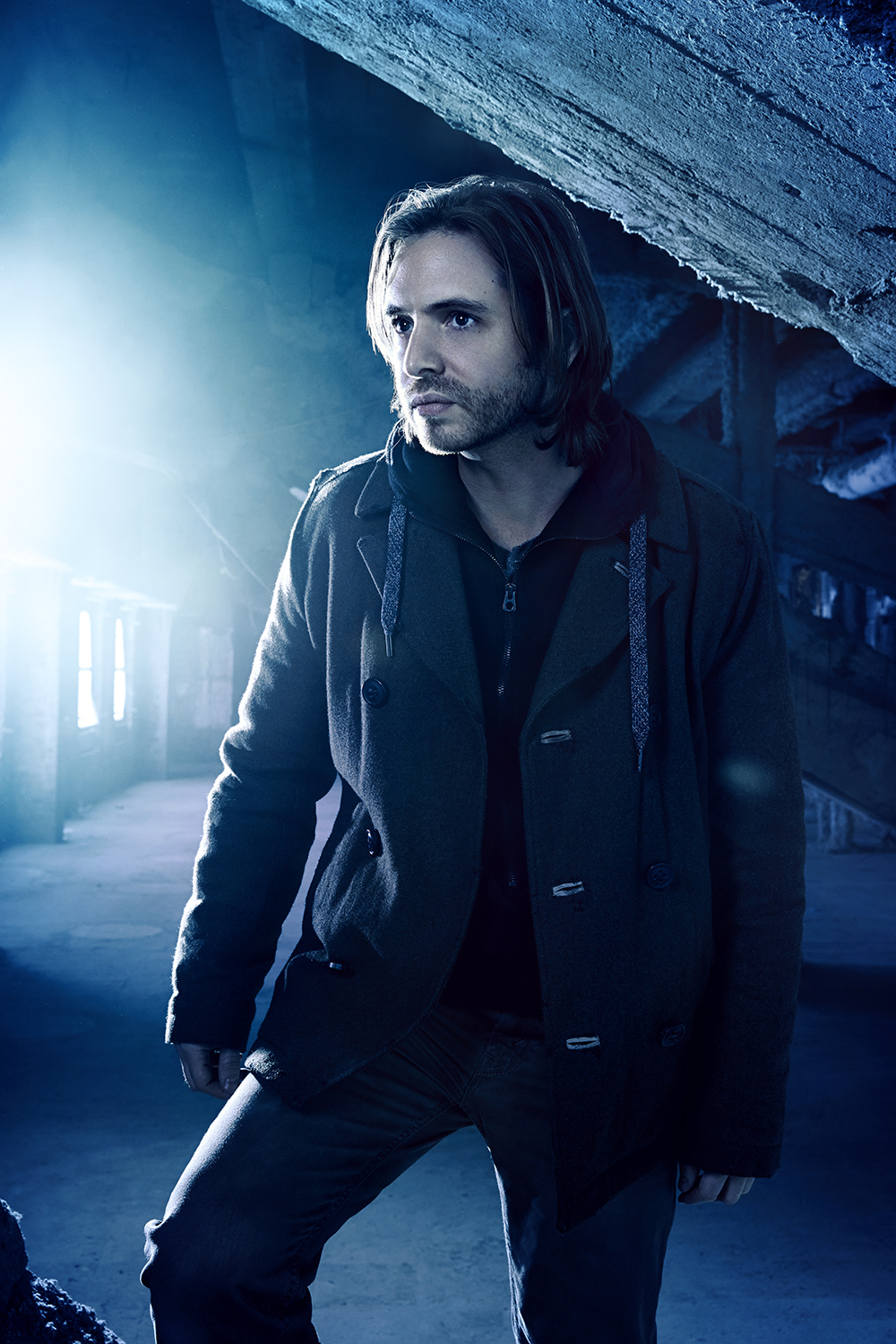 SyFy - Aaron Stanford in 12 Monkeys - New York City