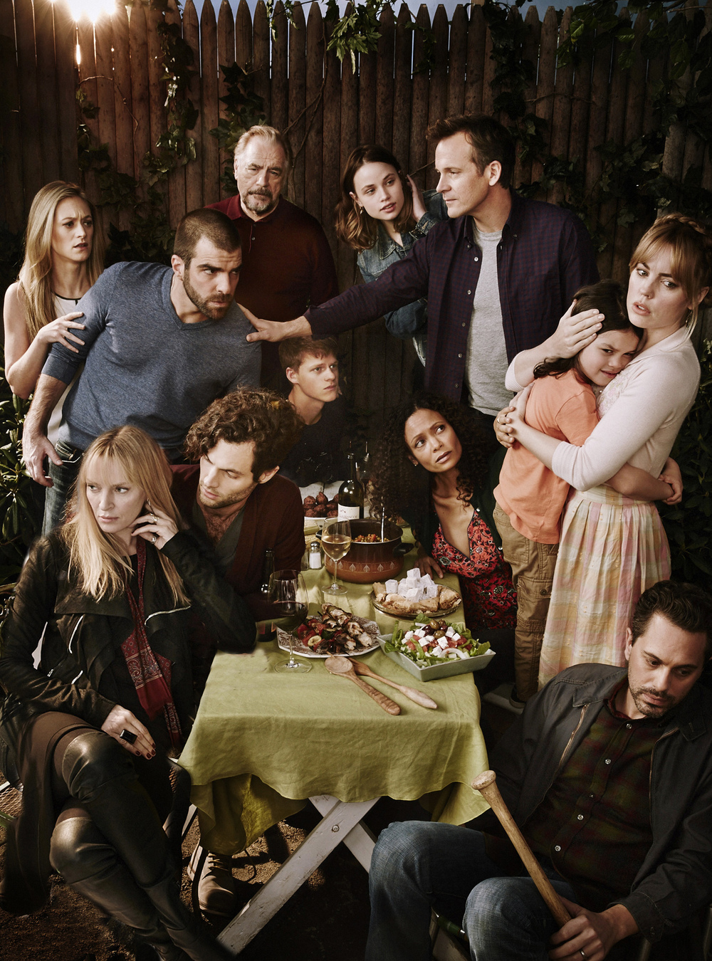 Cast of the The Slap for NBC - Queens, NY