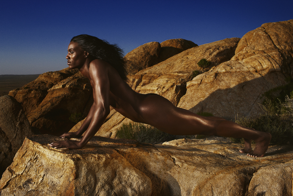 Sylvia Fowles - Lancaster, CA for ESPN Body Issue