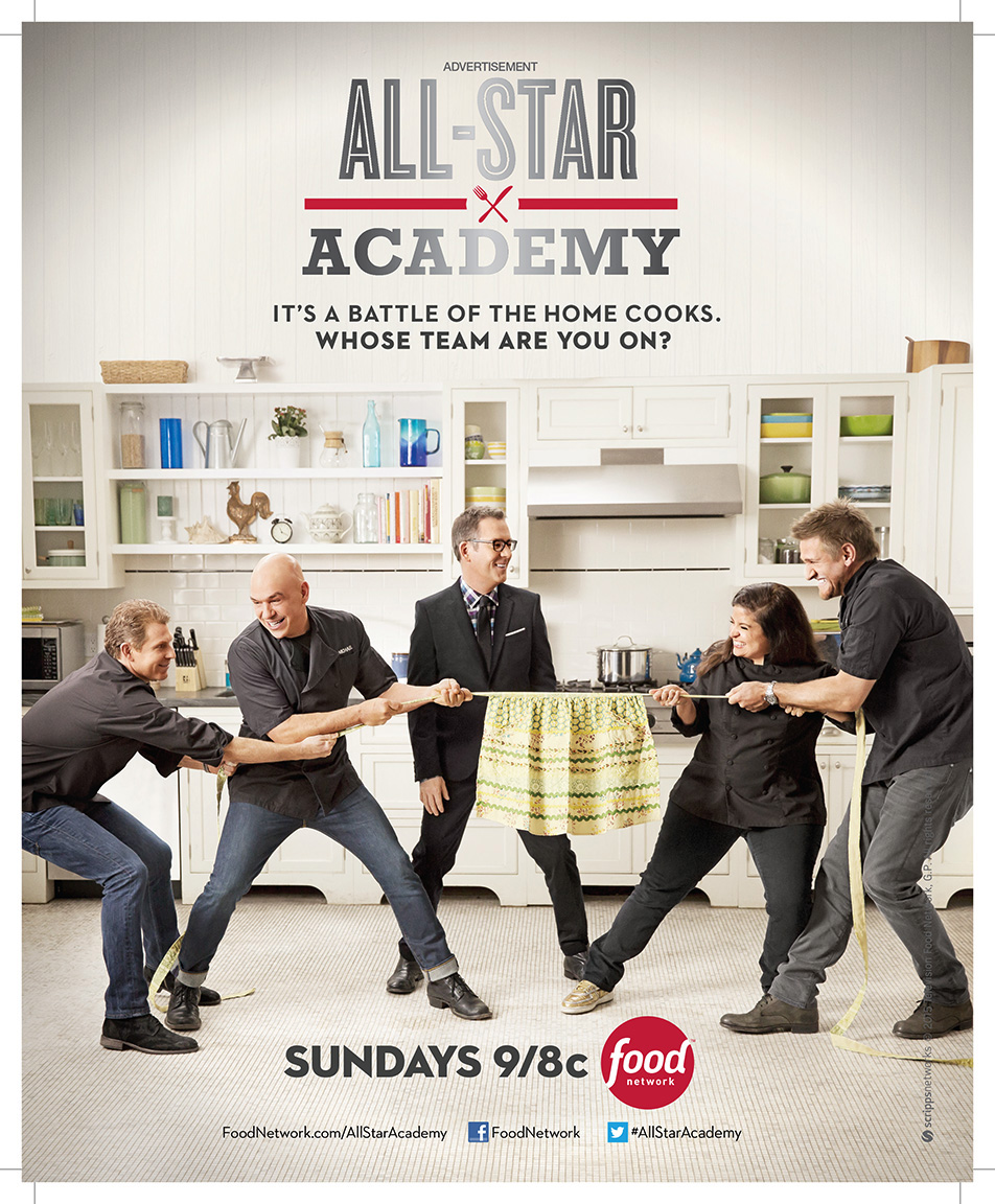 All Star Academy for The Food Network - New York City