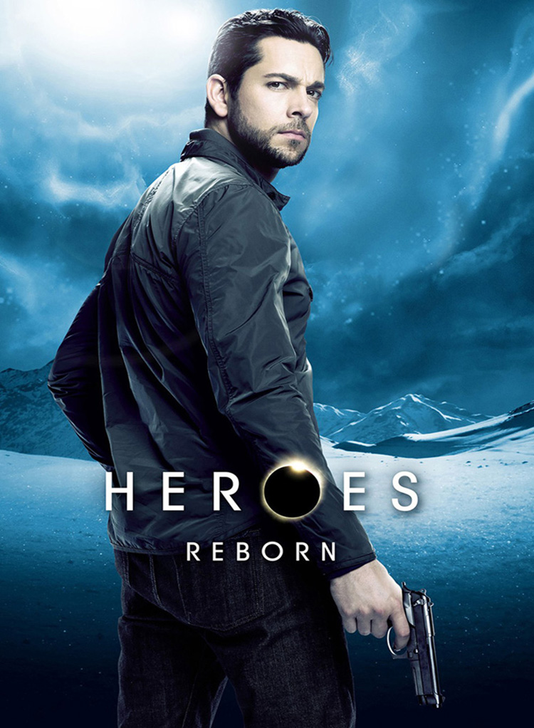 NBC- Zachary Levi in Heroes Reborn - Montreal, Canada