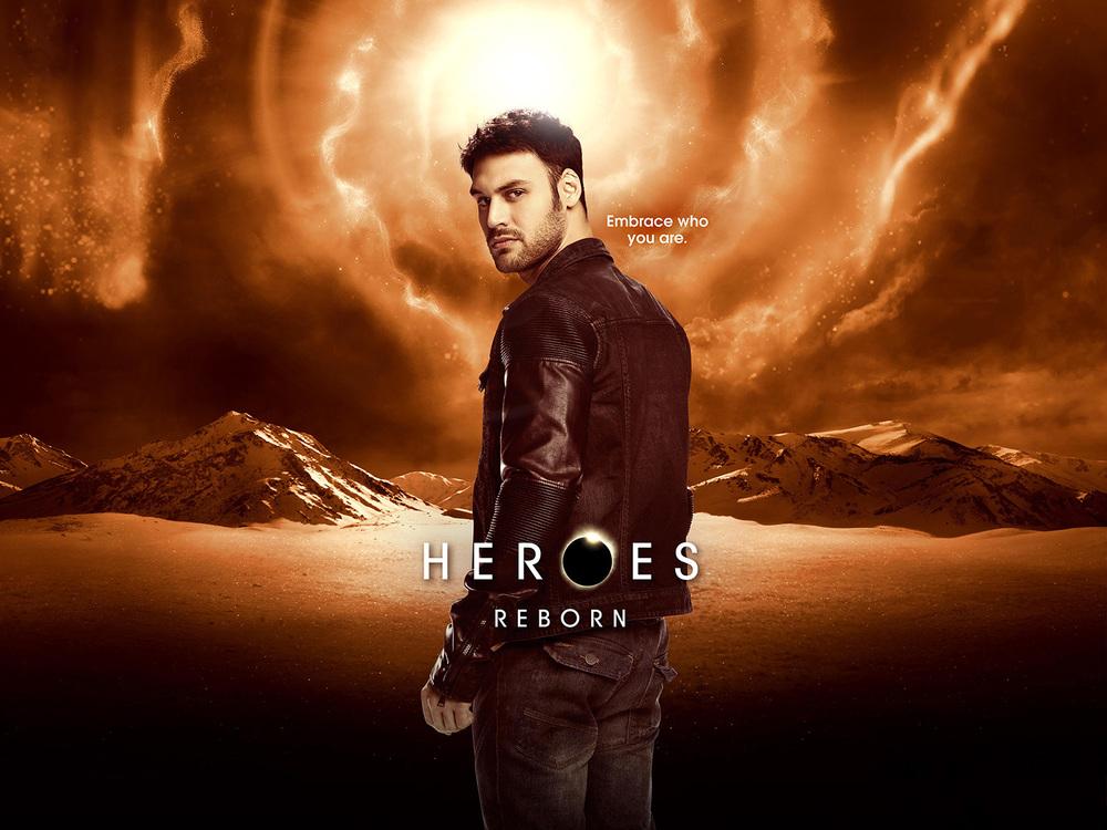 NBC - Ryan Guzman in Heroes Reborn - Montreal, Canada
