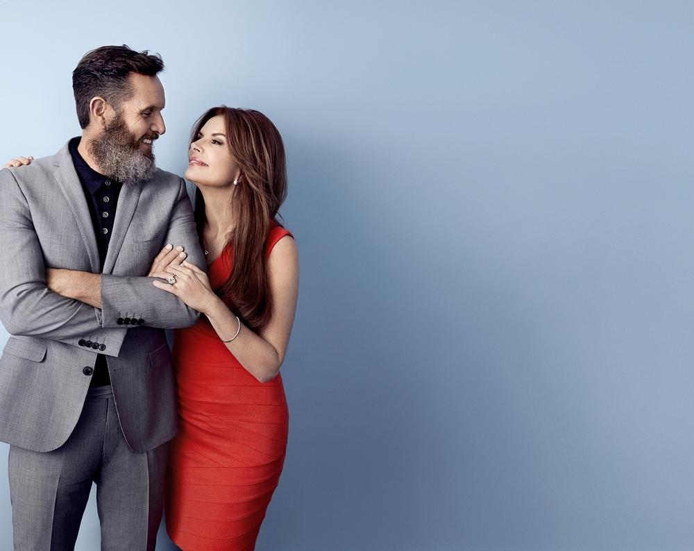 Mark Burnett and Roma Downey - Los Angeles, CA