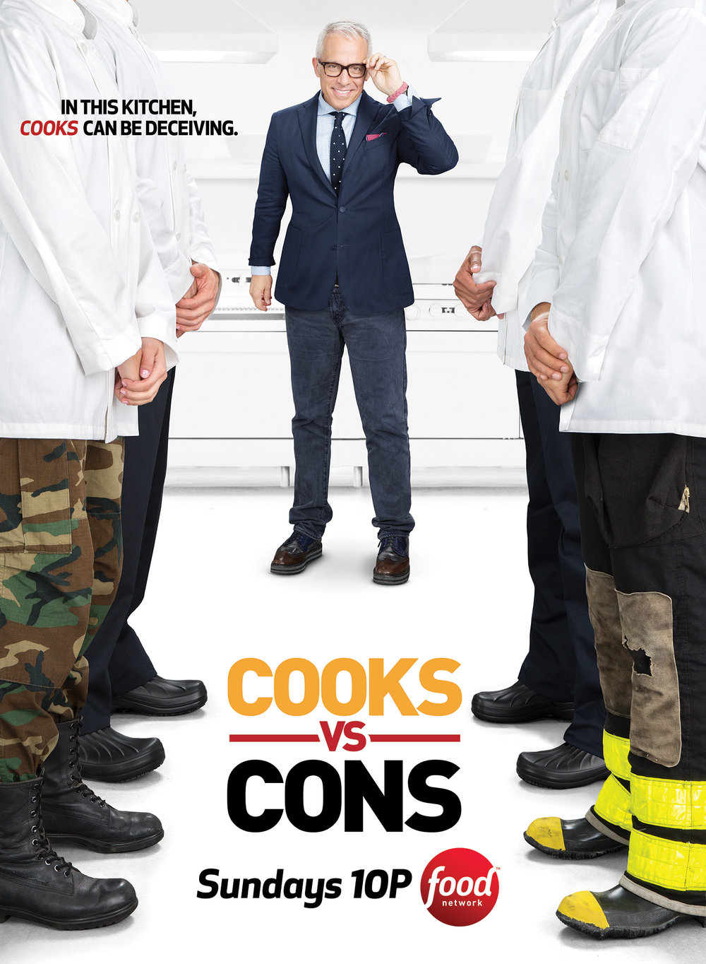 Food Network - Geoffrey Zakarian in Cooks VS Cons - Nw York City