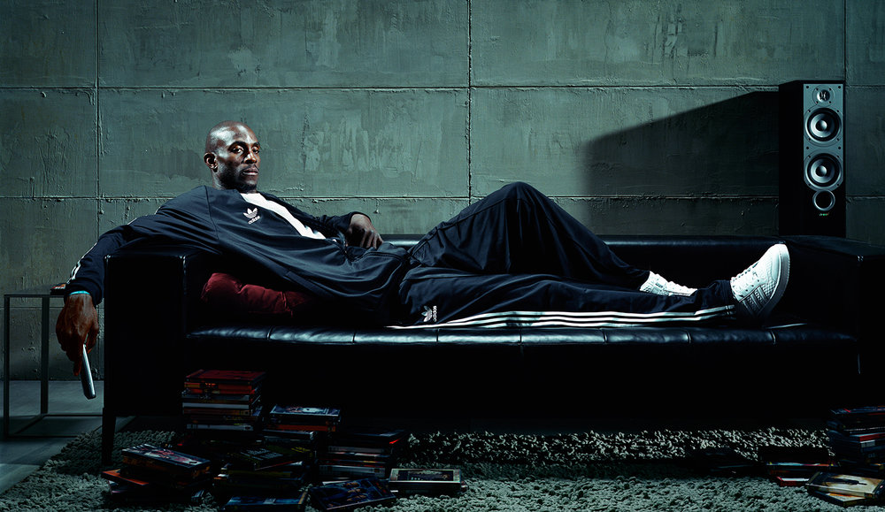 Kevin Garnett for Adidas - Los Angeles, CA