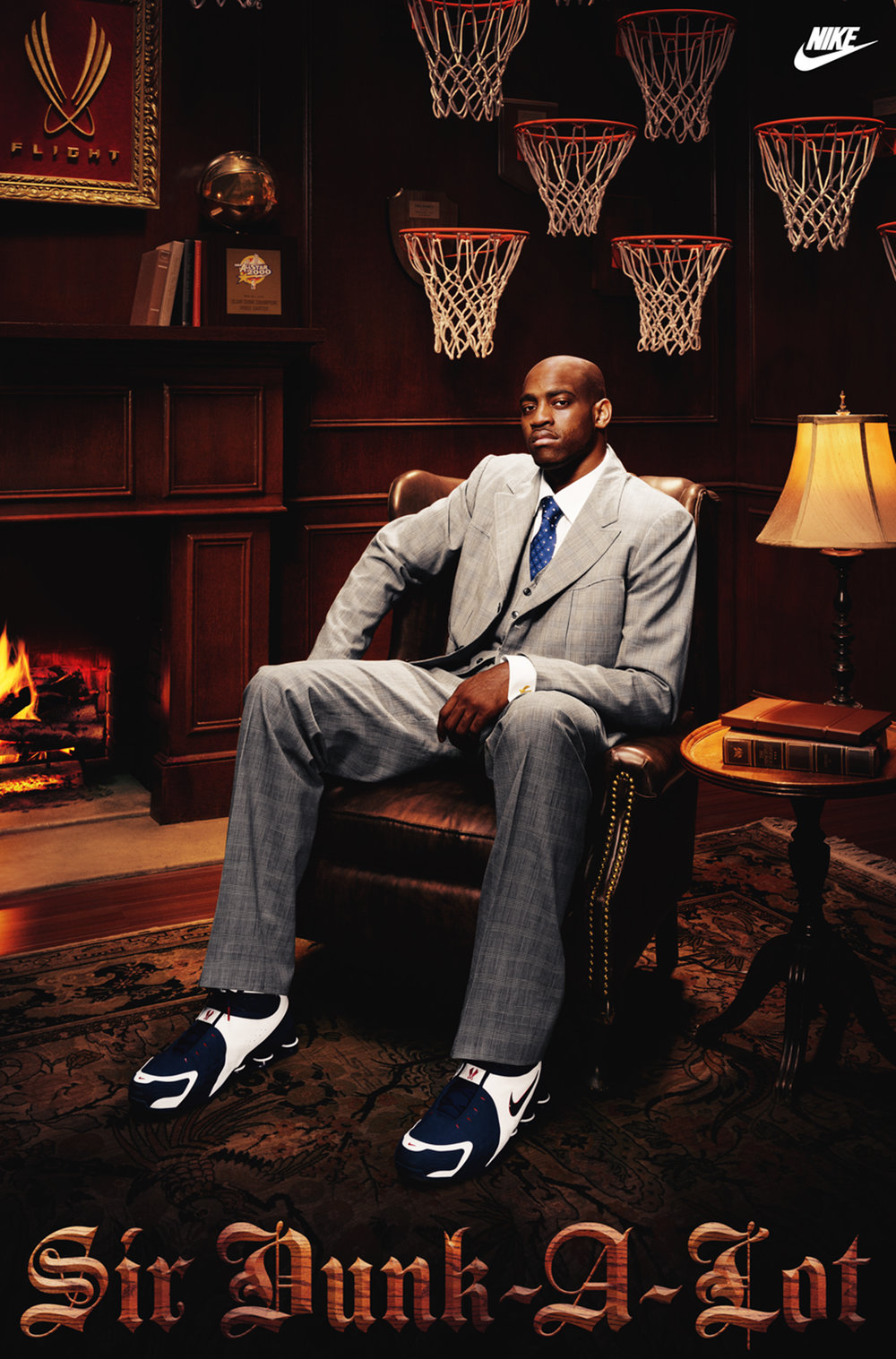 Vince Carter for Nike - Los Angeles, CA