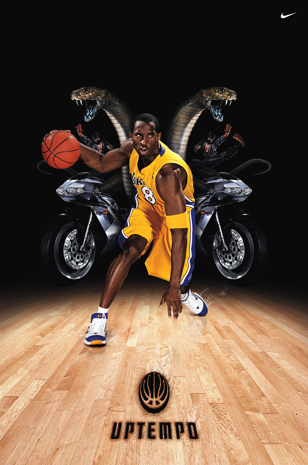 Kobe Bryant for Nike - Los Angeles, CA