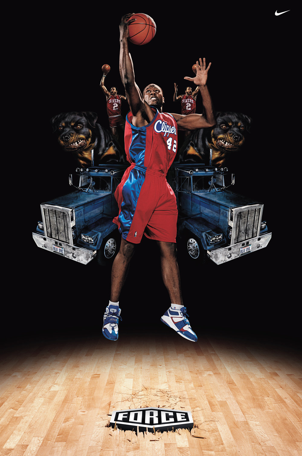 Elton Brand for Nike - Los Angeles, CA