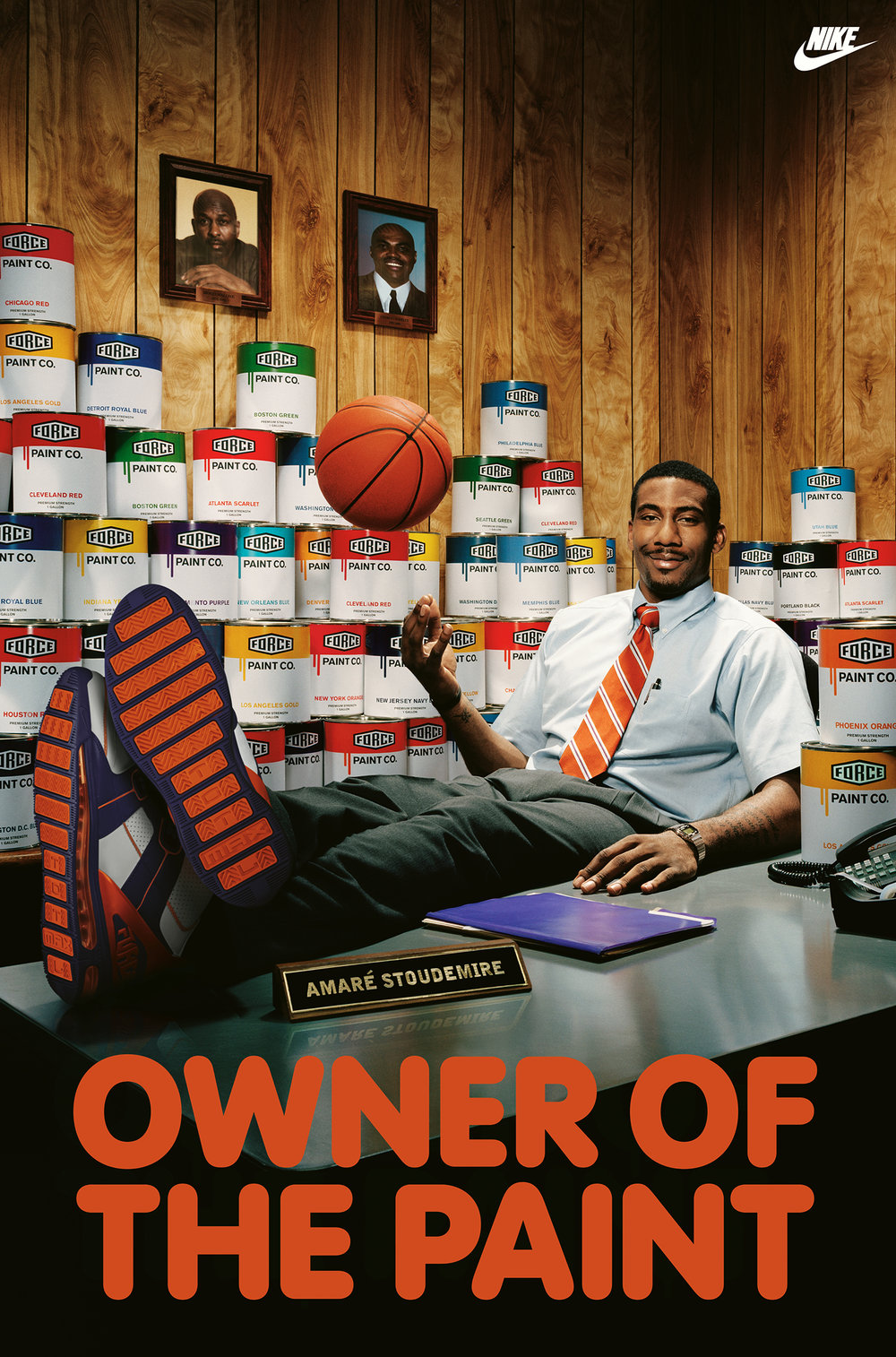 Amaré Stoudemire for Nike - Los Angeles, CA