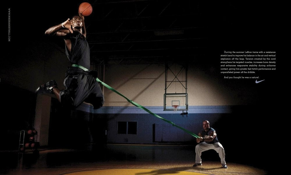 Lebron James for Nike - Cleveland, OH