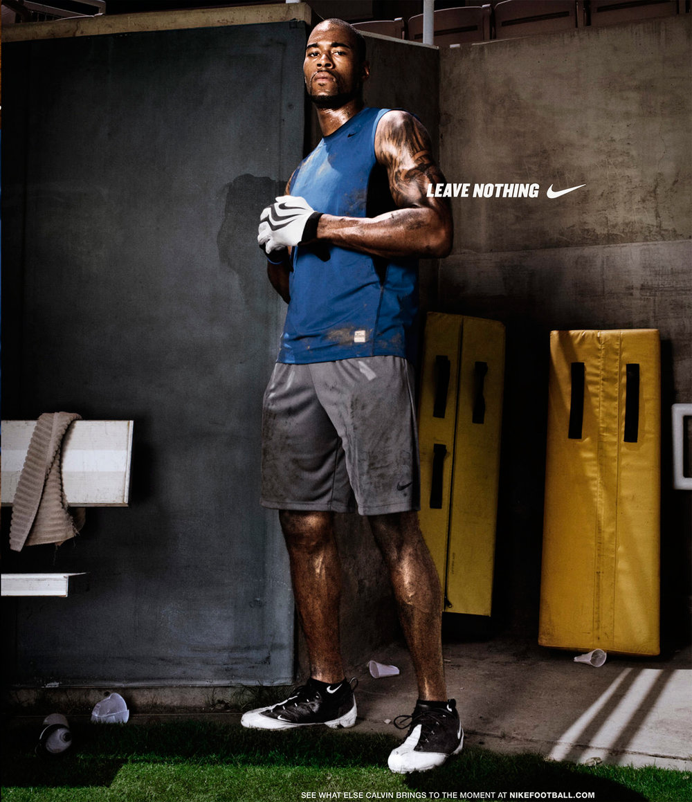 Calvin Johnson for Nike - Pasadena, CA