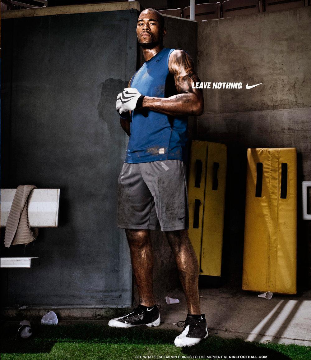 Calvin Johnson for Nike - Pasadena, CA