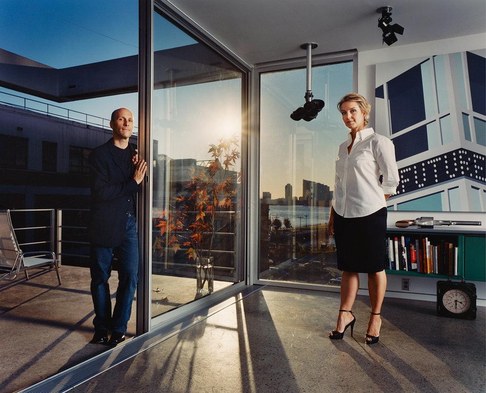 Christoff : Finio, architects Taryn Christoff and Martin Finio - New York City