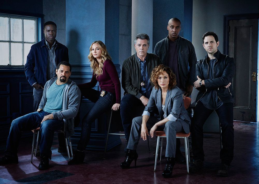 Cast of Shades of Blue for NBC - New York City