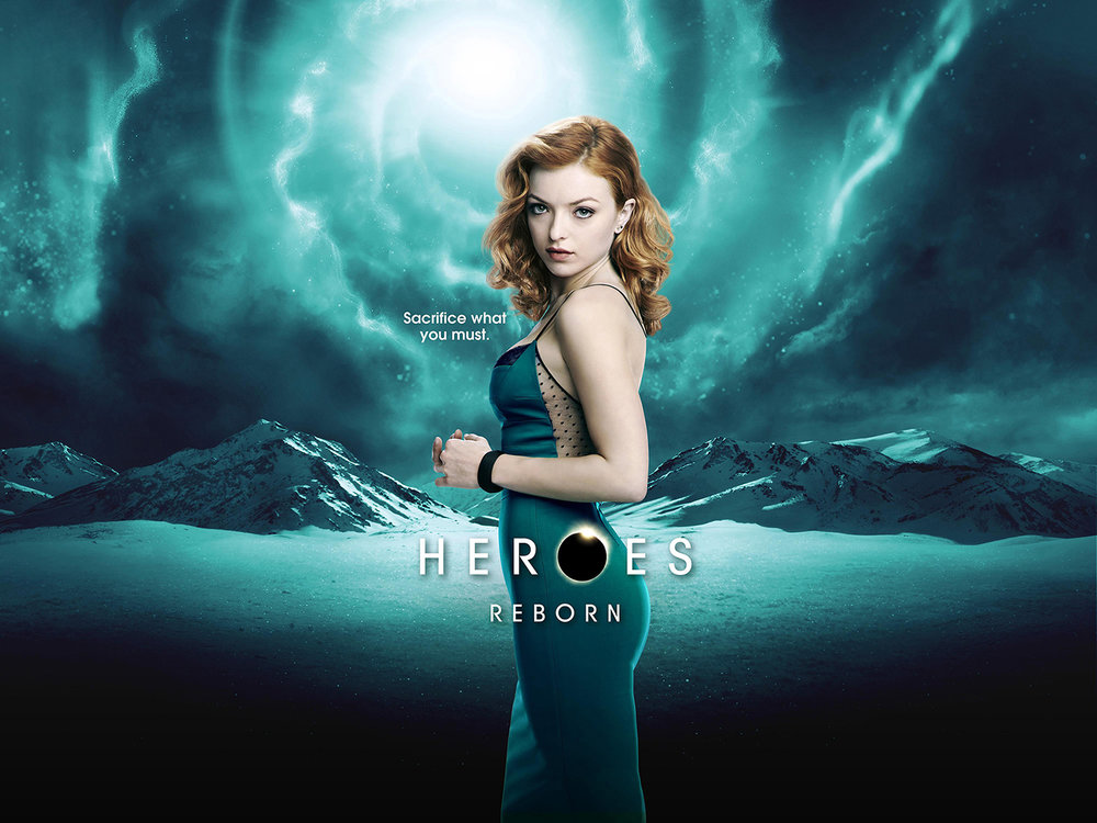 NBC - Francesca Eastwood in Heroes Reborn - Montreal, Canada
