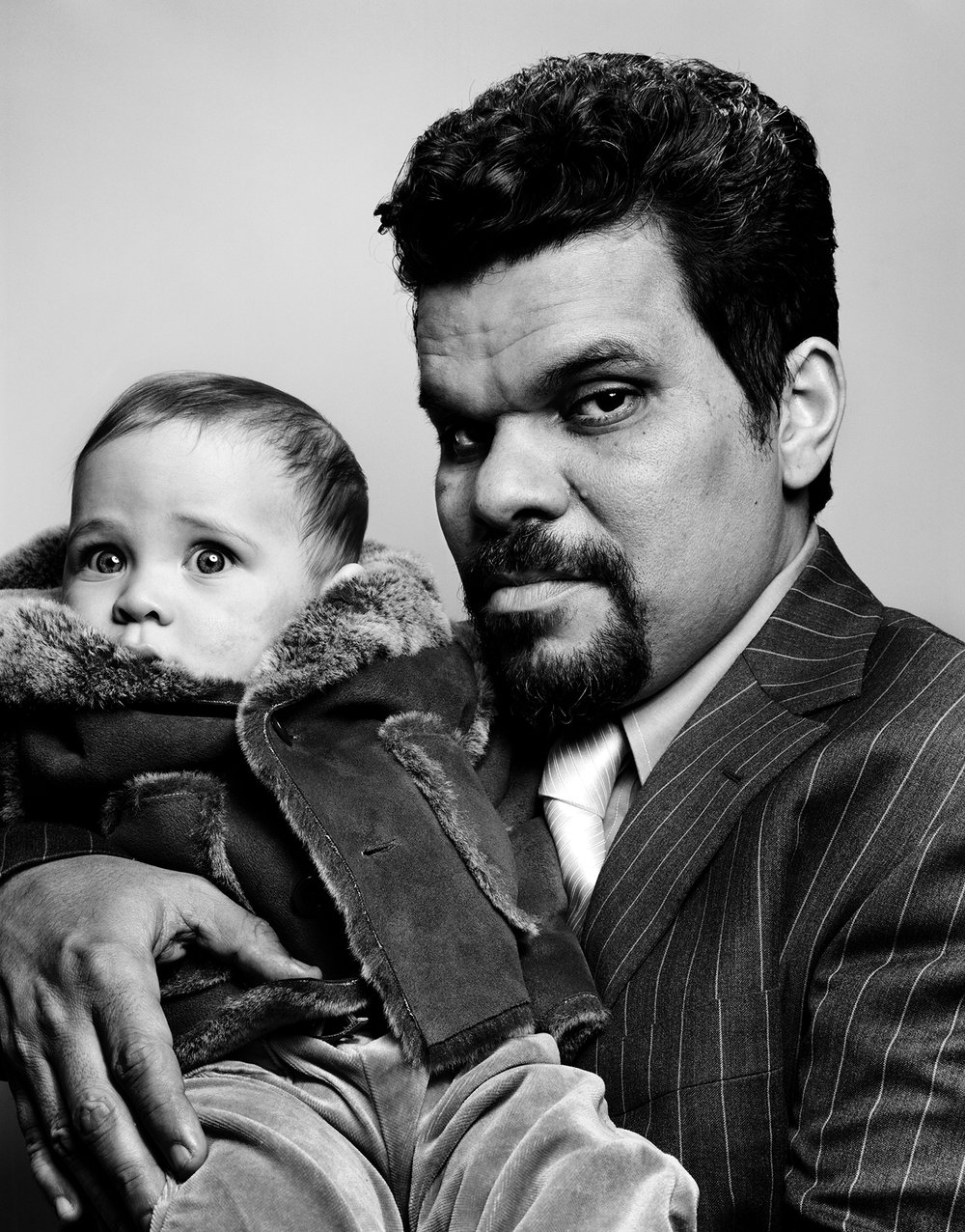 Luis Guzman with Charley - New York City