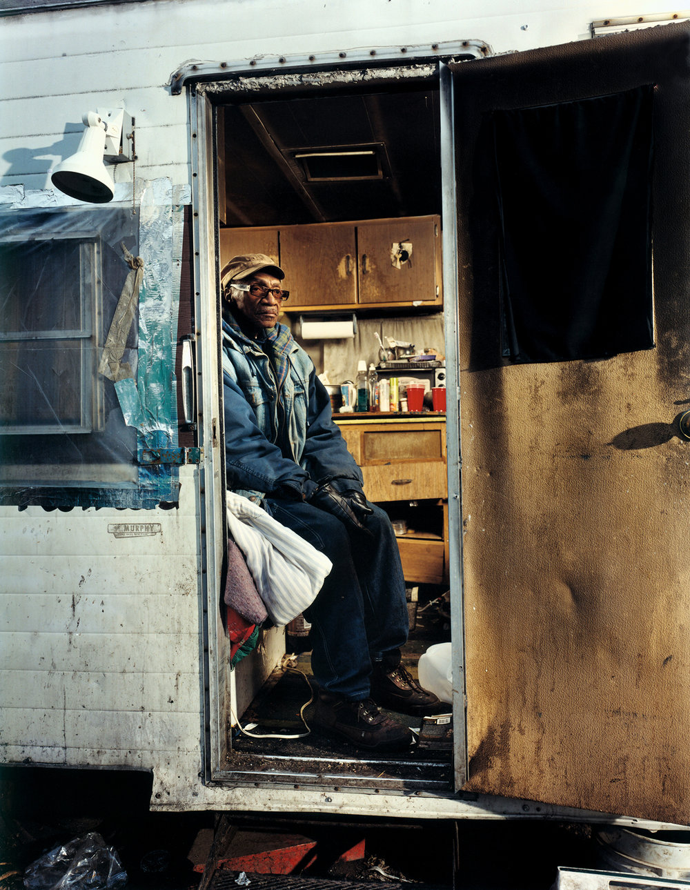 Robert - homeless man - Bronx, NY