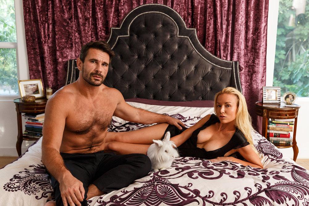 Manuel Ferrara and Kayden Kross - Husband and Wife Porn Stars - Hidden Valley, CA