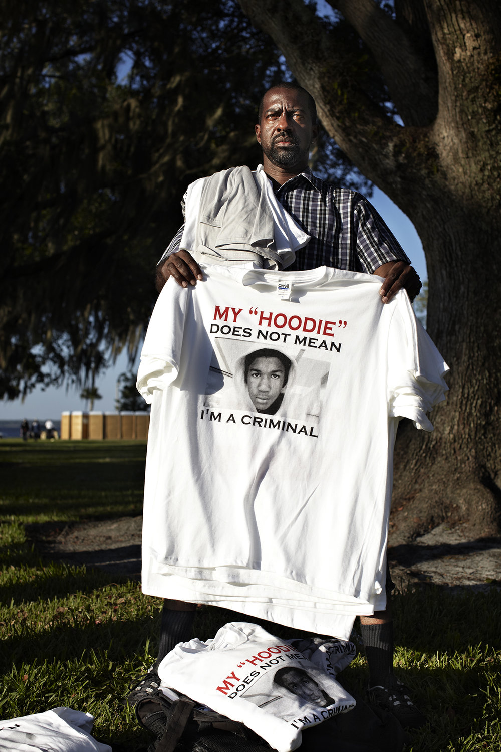 Trayvon Martin supporters protest for justice - Sanford, FL