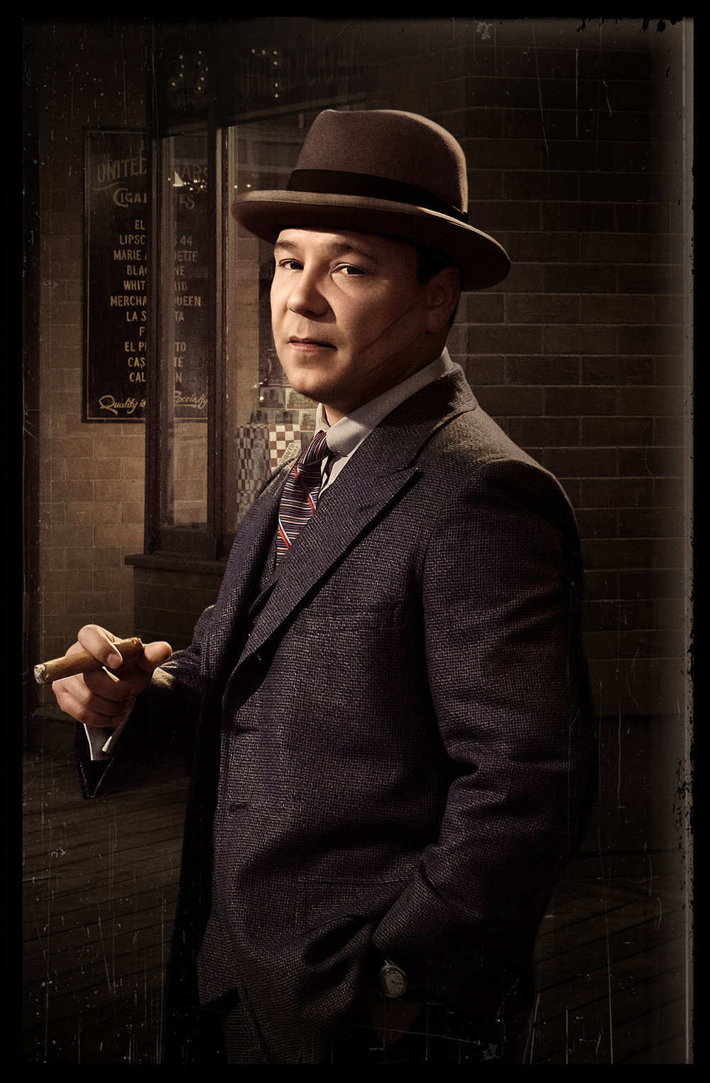 HBO - Boardwalk Empire - Stephen Graham as Al Capone - Brooklyn, NY